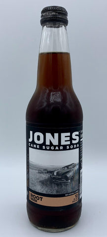 Jones Root Beer - Glass Bottle Single Serve