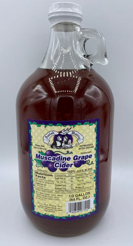 Muscadine Grape Cider