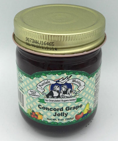No Sugar Added Concord Grape Jelly - 9 oz.
