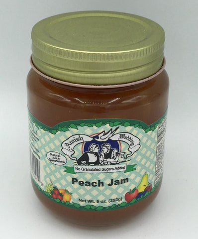 No Sugar Added Peach Jam - 9 oz.
