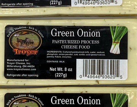 Green Onion Cheese - Shelf Stable
