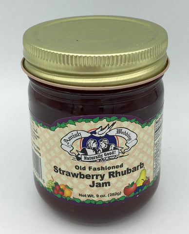 Strawberry Rhubarb Jam - 9 oz.