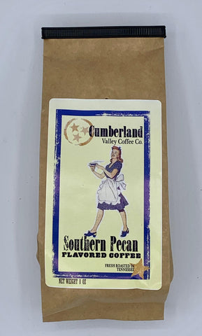 Southern Pecan Flavored Coffee - 8oz. Ground