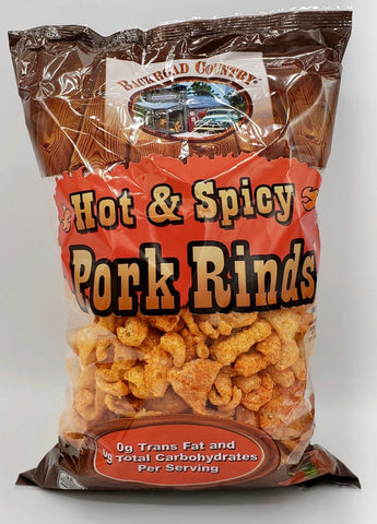 Pork Rinds - Hot & Spicy