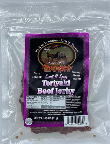 Sweet & Spicy Teriaki Beef Jerky