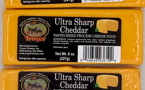 Ultra Sharp Cheddar Cheese - Shelf Stable