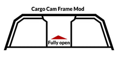 Cargo Cam Frame Mod for Windowed Headache Rack
