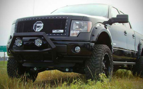 Spyder Industries bull bar on Ducharme Motors Ford truck