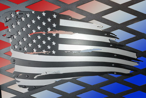 Spyder Industries Tattered Flag Headache Rack