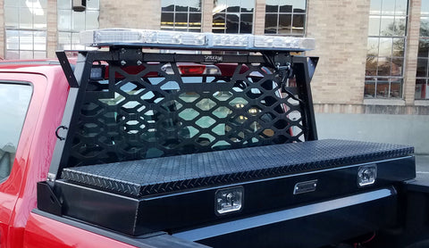 Spyder WerX rack on fire department vehicle