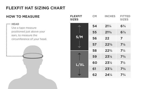 Flexfit hat size chart - Spyder Industries