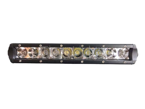 "10"" Single Row LED Light Bar, TL10SRC"
