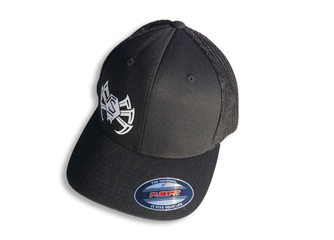 Spyder Hat - Flexfit Mesh - Black
