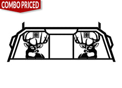 Stage 1 Combo - White Tail Deer Headache Rack
