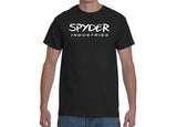 Black T-Shirt - Spyder Logo