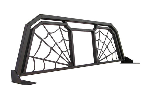 Spyder Web Headache Rack - w/Window Opening for pickup trucks