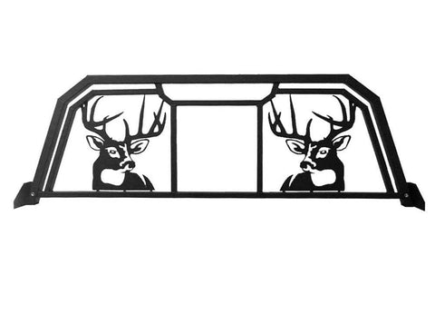 White Tail Deer Headache Rack for trucks