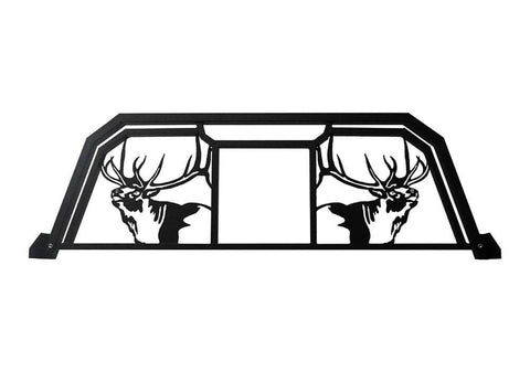Elk head Headache Rack for trucks