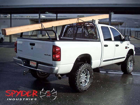 Lumber on Spyder Headache Rack and Rear Hoop Rack