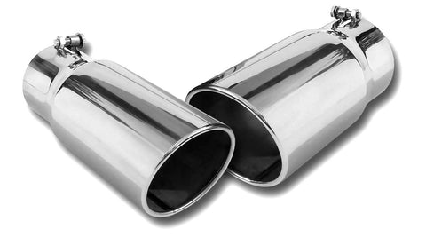 Spyder Industries Polished Exhaust Tips