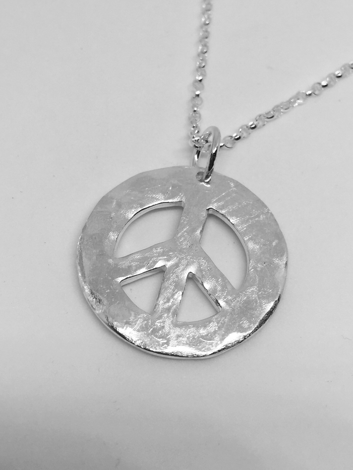 Peace Necklace Large