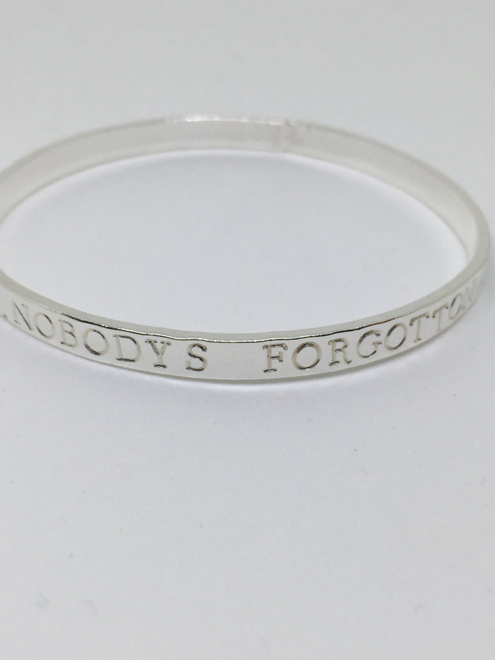 Meaningful personalised Bangle