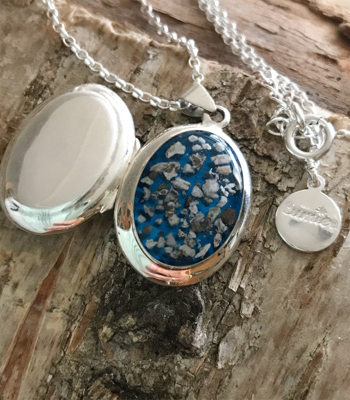 Oval Memorial Locket
