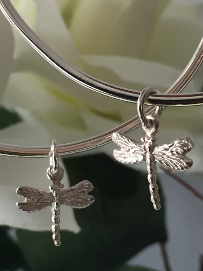 Dainty Dragonfly Bangle