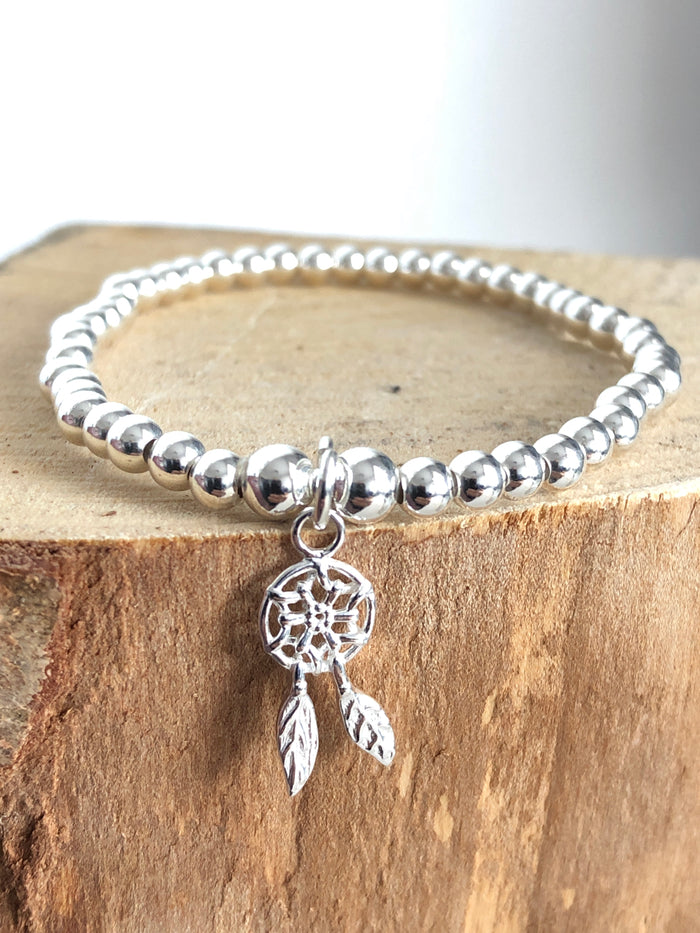 Dreamcatcher Bead Bracelet