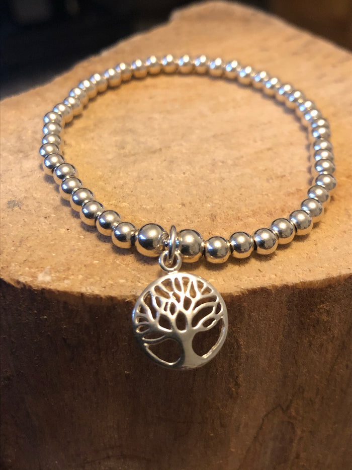 Family Tree Bead Bracelet
