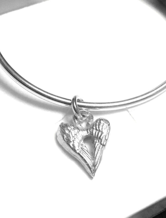 Angel Wings of Love Bangle