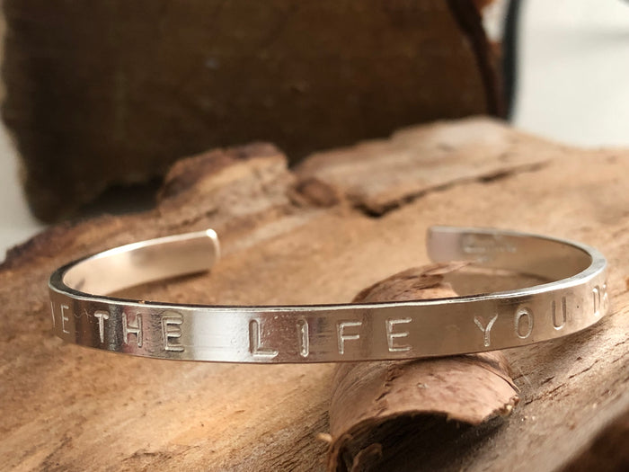 Cuff Bracelet Personalised