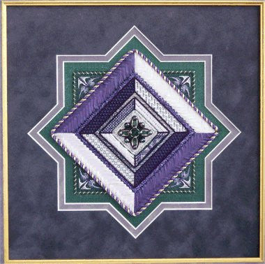 Jewel 11: Emerald and Amethyst