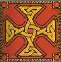 Amber Celtic Cross