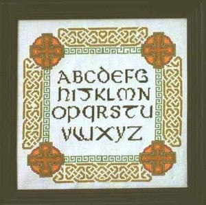 Celtic Alphabet Sampler