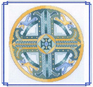 Celtic Emerald Cross