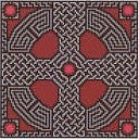 Garnet Celtic Cross