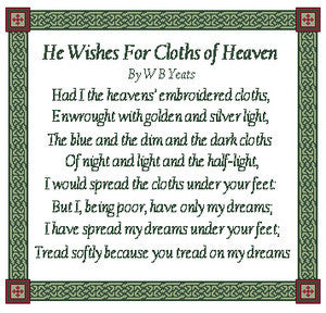 He Wishes for Clothes of Heaven