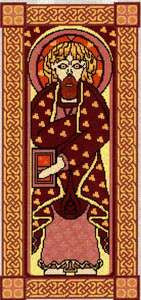 Book of Kells - St Matthew/Knotwork