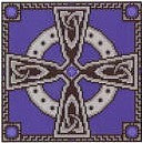 Lapis Celtic Cross