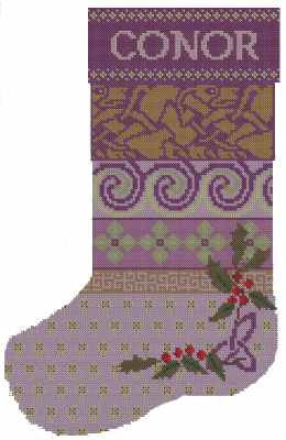 Celtic Christmas Stocking/Name