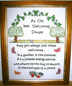An Old Irish Welcoming Prayer