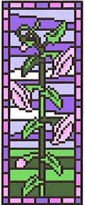 Stained Glass Harebell