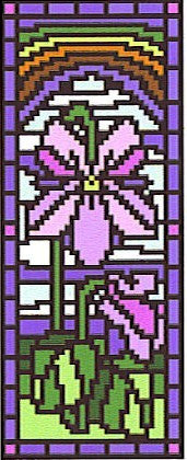 Stained Glass Violet