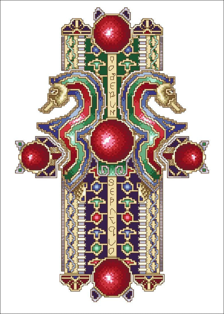 Anglo-Saxon Treasure Cross
