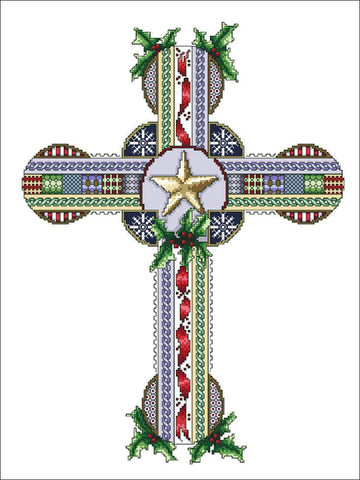 Celtic Christmas Cross