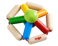 Load image into Gallery viewer, Color Carousel Wooden Clutching Toy