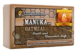 All Natural Manuka & Oatmeal Soap