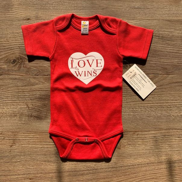 Love Wins Bodysuit - 6-12 months