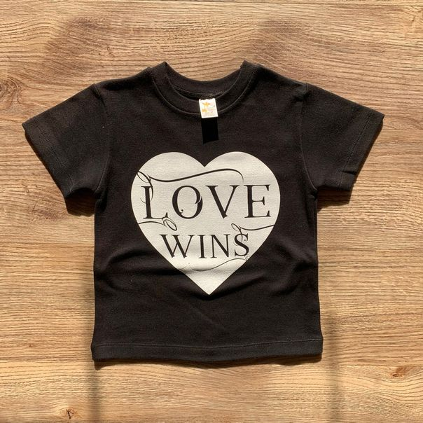 Love Wins Shirt - 4T